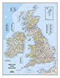 Britain and Ireland Classic, laminated Wall Maps Countries & Regions: PP.NG602022 (Reference - Countries & Regions)