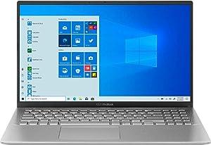 2021 ASUS X512DA VivoBook Thin and Light Laptop 15.6 FHD AMD 4-Core RYZEN 5 3500U 8GB DDR4 512GB NVMe SSD AMD Radeon Vega 8 Graphics USB-C WiFi Webcam HDMI Windows 10 Home w/ RE 32GB USB 3.0 Drive