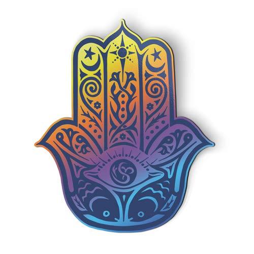 (AK Wall Art Hamsa Hand Beautiful - Magnet - Car Fridge Locker - Select Size)
