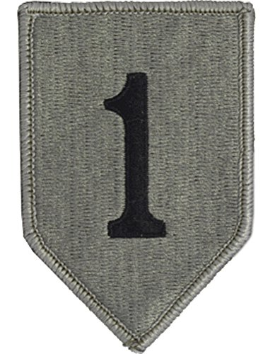 1st Infantry Division ACU Patch with Velcro ® or equivalent - Military Acu Patches