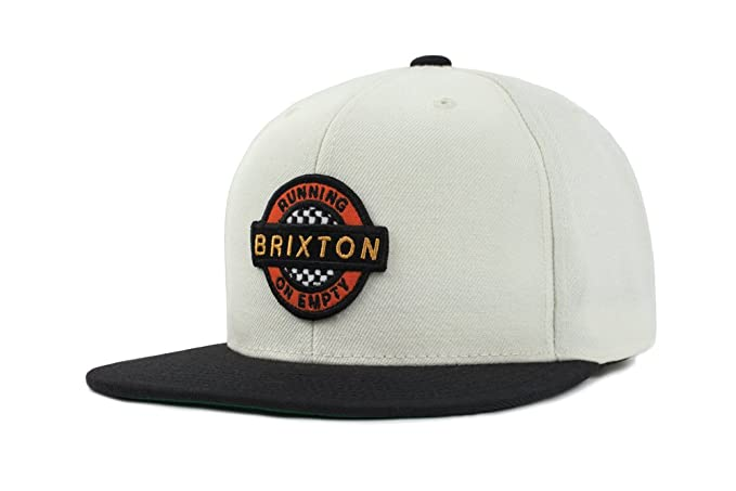 bfa0d0bf959df Amazon.com: Brixton Men's Speedway Medium Profile Adjustable Hat, Off Off  White/Black O/S: Clothing