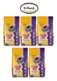 PACK OF 5 - Meow Mix Cat Food Original Choice, 6.3 LB