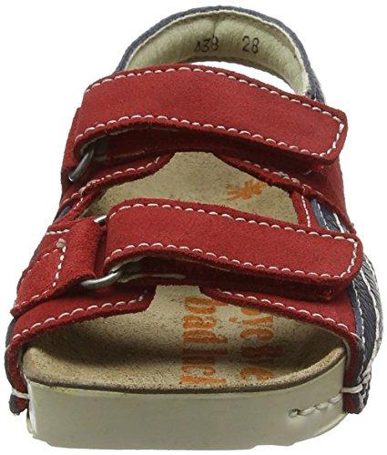 Sandalias Para Grain Plana A438 Lux Con i Kids Play tibet Niños Suede Soft Rojo Art Plataforma 4 YOqxHWnqz
