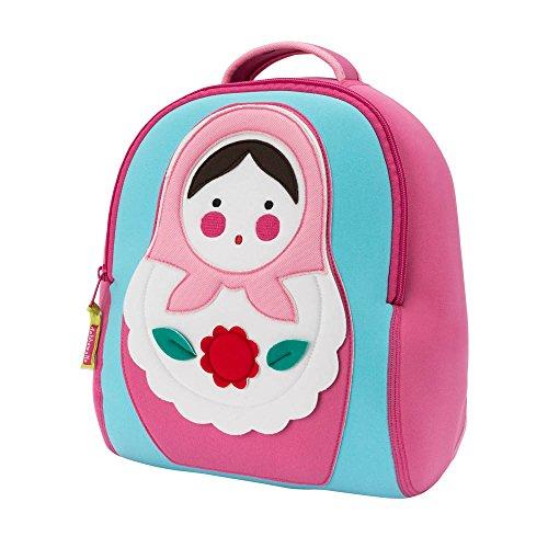 DabbaWalla Preschool & Toddler Russian Doll Backpack, Pink
