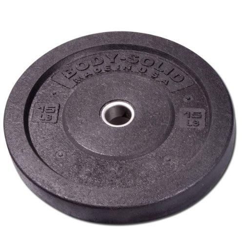Body-Solid 4,6 kg. Commercial Stoßstangen-Platte