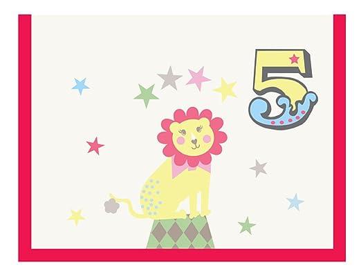 Piccalilly, tarjeta de cumpleaños, feliz 5 cumpleaños ...