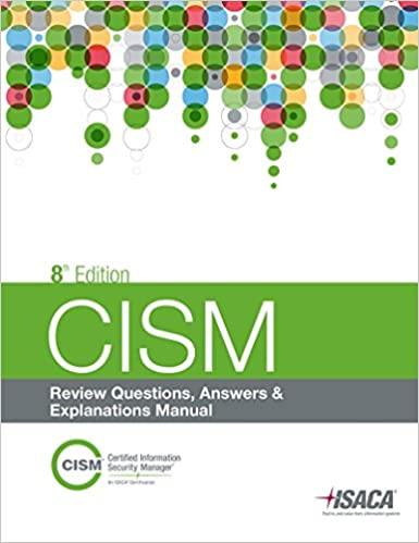 Amazon buy cism review questions answers explanations 8th amazon buy cism review questions answers explanations 8th edition book online at low prices in india cism review questions answers explanations fandeluxe Gallery