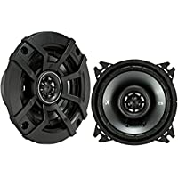 Kicker 43CSC44 CSC4 4-Inch Coaxial Speakers - 4-Ohm