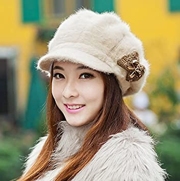 Ehome HOMEE Hat-Women s Winter and Autumn Hats Fashion Warm Knit Cap  Children Cashmere Hat ce3d8993c6bf