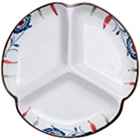 Happiness Tableware LIXUE Tres Platos caseros creativos