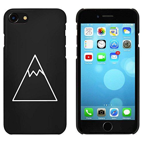 Noir 'Montagne Enneigée' étui / housse pour iPhone 7 (MC00077605)
