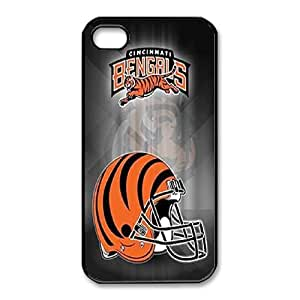 iphone4 4s Phone Case Black Cincinnati Bengals ES3TY7833490