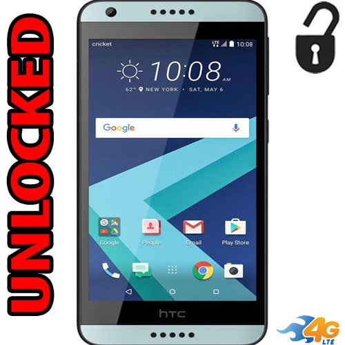 HTC Desire 550 Unlocked 4G LTE USA Latin Caribbean GSM Android 7.0 Quad core LCD 5.0″ 16GB