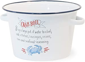 Boston International Food-Safe Enamelware Serving Pot, 11