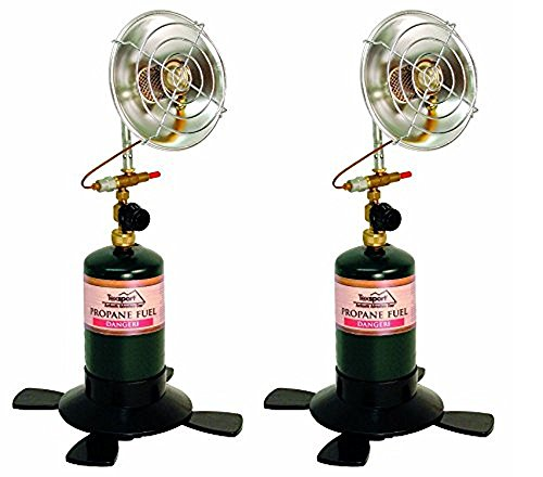(Texsport Portable Outdoor Propane Heater (Pack of 2))