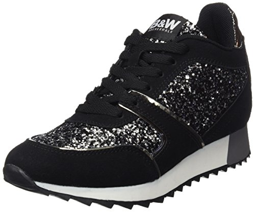 Break & Walk Damen Hi221801 High-Top Black (Schwarz)