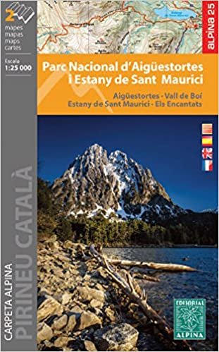 Parc Nacional D'aigüestortes I Stany De Sant Maurici. 1:25.000. 2 Mapas Excursionistas. Editorial Alpina. por Vv.aa. epub