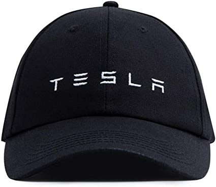 Embroidered TESLA Logo Baseball Cap Sport Hat Racing Cap Model S Adjustable