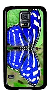Beautiful butterfly Easter Thanksgiving Personlized Masterpiece Limited Design PC Black Case for Samsung Galaxy S5 I9600 by Cases & Mousepads
