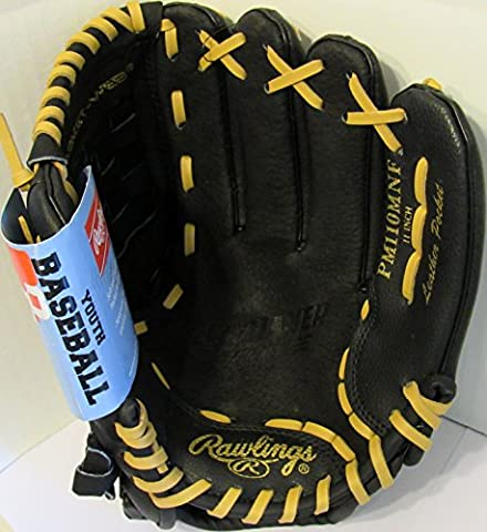 Rawlings Playmaker Series 11-Inch Youth Baseball Glove Mitts Infield/Outfield, Right-Hand Throw (PM110MNF)