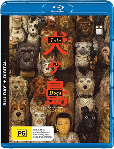 Isle of Dogs | A Wes Anderson Film | NON-USA Format | Region B Import - Australia