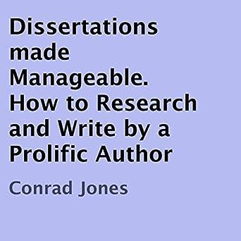 prolific dissertation