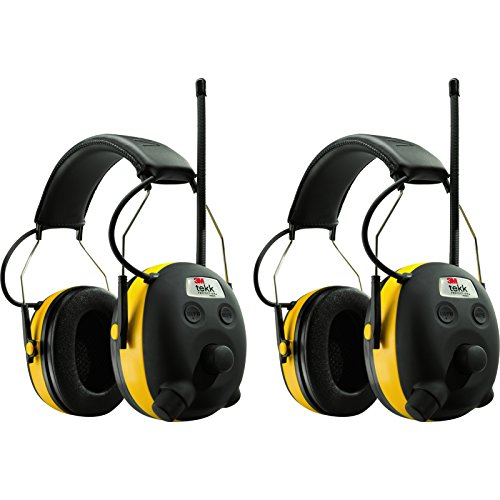 AO Safety WorkTunes AM/FM Radio MP3 Hearing Protecton Earmufffs, 2-Pack by AO
