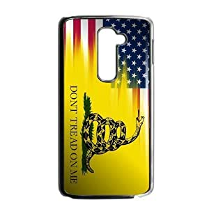 Canting_Good,Don't Tread On Me, Custom Case for LG G2