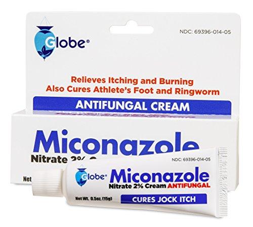 Miconazole Nitrate 2 % Antifungal Cream - 0.5 Oz (Antifungal Miconazole Cream)