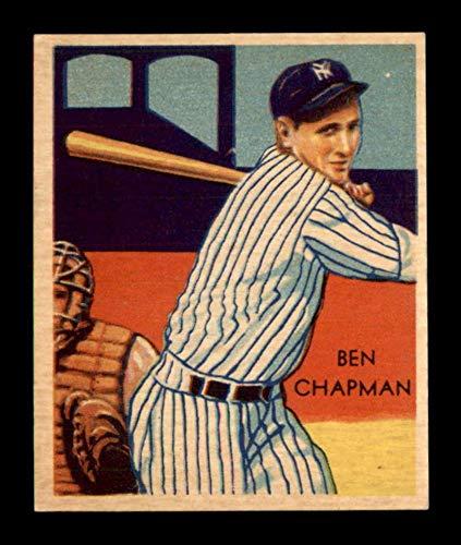 (1934 Diamond Stars #38 Ben Chapman EX+ X1706093)