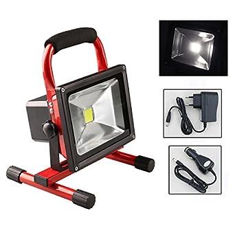 Interessant Hengda® 50W LED Akku Strahler Handlampe Arbeitsleuchte Baustrahler  ZC99