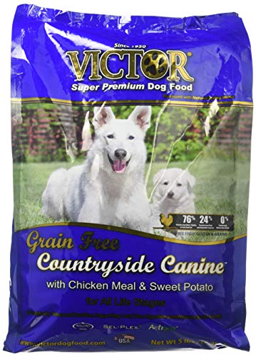 Victor Countryside Canine With Chicken Meal Grain Free Dry Dog Food, 5 Lb. Bag