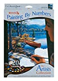 Reeves 9-Inch by 12-Inch Paint by Number Artist's Collection, Time Well Spent