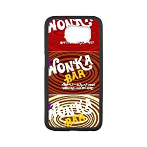 Special Design Case Samsung Galaxy S6 Black Cell Phone Case Khcyf Willy Wonka Golden Ticket Chocolate Bar Durable Rubber Cover