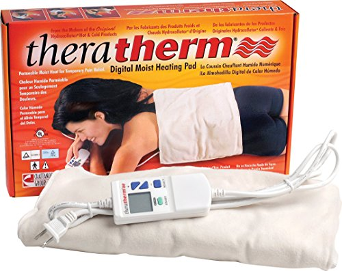 Chattanooga Theratherm Digital Moist Heating Pad, Large/Standard (14