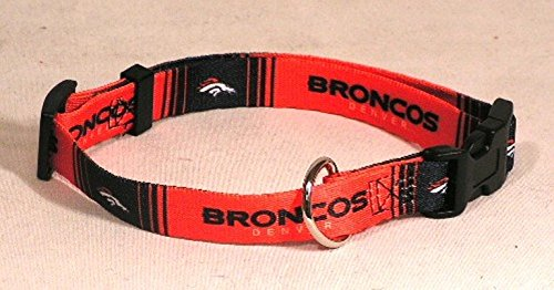 Hunter MFG Denver Broncos Dog Collar, Extra Large
