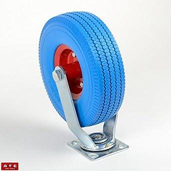 Rueda giratoria de 10 pulgadas para remolque de neumáticos, 1 unidad: Amazon.es: Industria, empresas y ciencia
