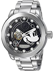 Invicta Mens Disney Limited Edition Automatic Stainless Steel Casual Watch, Color:Silver-Toned (Model: 22742)