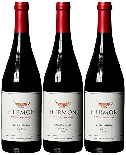 Golan Heights Winery Yarden Mount Hermon Cabernet-Sauvignon - Merlot 2014 (3 x 0.75 l)