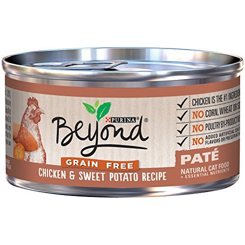 Best Natural Wet Cat Food Grain Free (Chicken & Potato, 12 Pack) 3 oz,Can Purina Beyond Treats Favorites Wellness Feast nutrition Gourmet