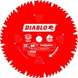 freud rip saw blade - Diablo D1260X 12-Inch by 60t 1in Arbor Combination Saw Blade