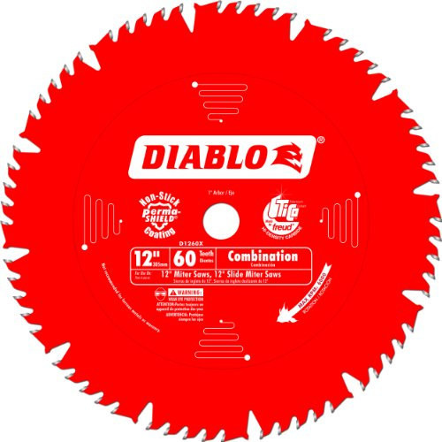 Diablo D1260X Combination Saw - Pine Molding Crown