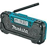 Makita RM02 12V max CXT Lithium-Ion Cordless Compact Job Site Radio, Tool Only