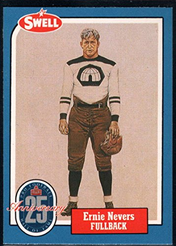 (Football NFL 1988 Swell Greats #91 Ernie Nevers)