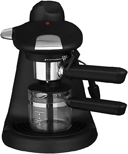 Máquina de café espresso cafetera automática mini casa pequeña vapor: Amazon.es: Hogar