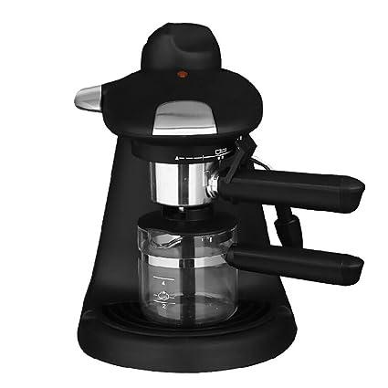 Máquina de café espresso cafetera automática mini casa pequeña vapor