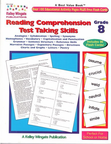 Reading Comprehension Test Taking Skills Grade 8 (CD-3740) - Pedigo Cds