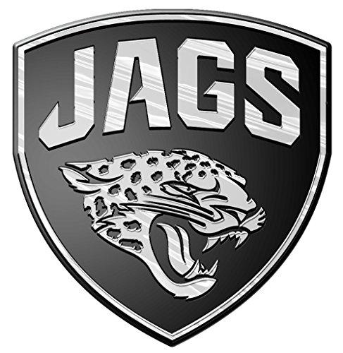 (NFL Jacksonville Jaguars Chrome Automobile Emblem)