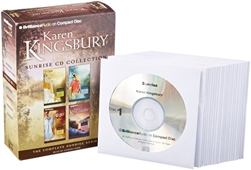 Karen Kingsbury Sunrise CD Collection: Sunrise, Summer, Someday, Sunset (Sunrise Series) by Brand: Brilliance Audio on CD