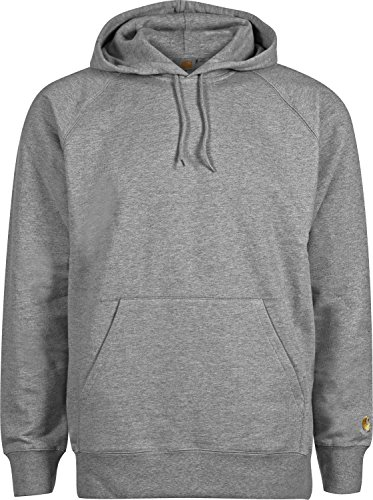 Gold Grey Carhartt Heather Hooded Dark Sweat Wip S Chase qazUR